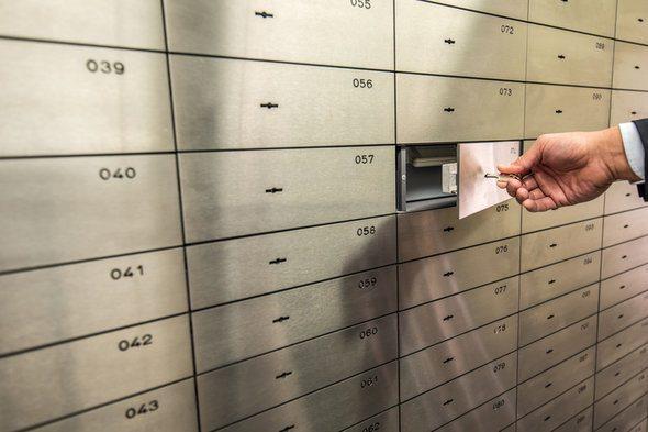 Information about safe deposit boxes